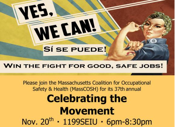 MASS COSH's 37th Annual Celebrating the Movement