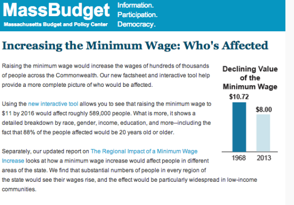 A Breakdown of Who Would Be Affected by a Minimum Wage Increase