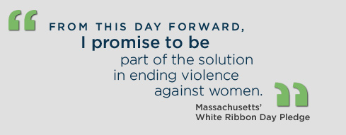 Calling All Men: On March 6, 2014, Take the Pledge. Wear the Ribbon.