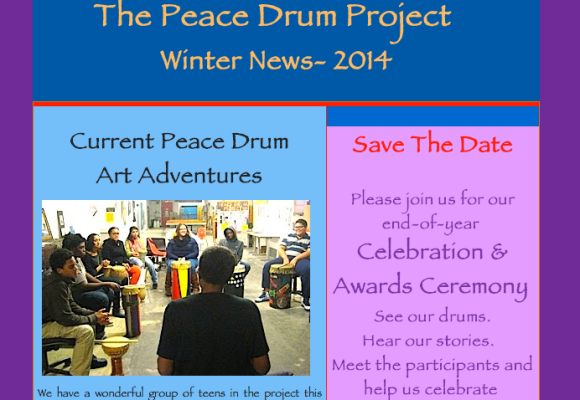 Peace Drum Project Update